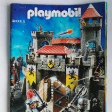 Juguetes antiguos: CATALOGO PLAYMOBIL 2011. Lote 191127273