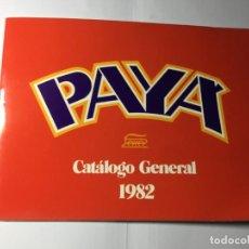 Juguetes antiguos: CATALOGO GENERAL 1982 DE JUGUETES PAYA. Lote 193176847