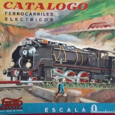 Giocattoli antichi: CATALOGO JUGUETES PAYA HERMANOS IBI ALICANTE FERROCARRILES MECANICOS ESCALA 0 O ORIGINAL. Lote 193431203