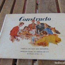 Giocattoli antichi: CATALOGO DE MINIATURAS NAVALES BARCOS CONSTRUCTO FABRICA SAN LUIS ( MENORCA) BARCELONA. Lote 193713736