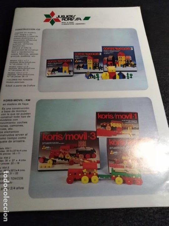 Juguetes antiguos: Catalogo Juguetes Koris 1970 - Foto 2 - 194159236