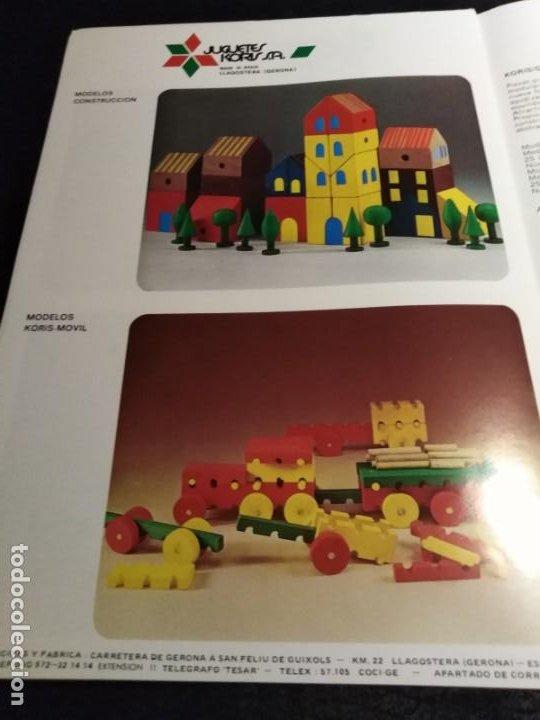Juguetes antiguos: Catalogo Juguetes Koris 1970 - Foto 5 - 194159236