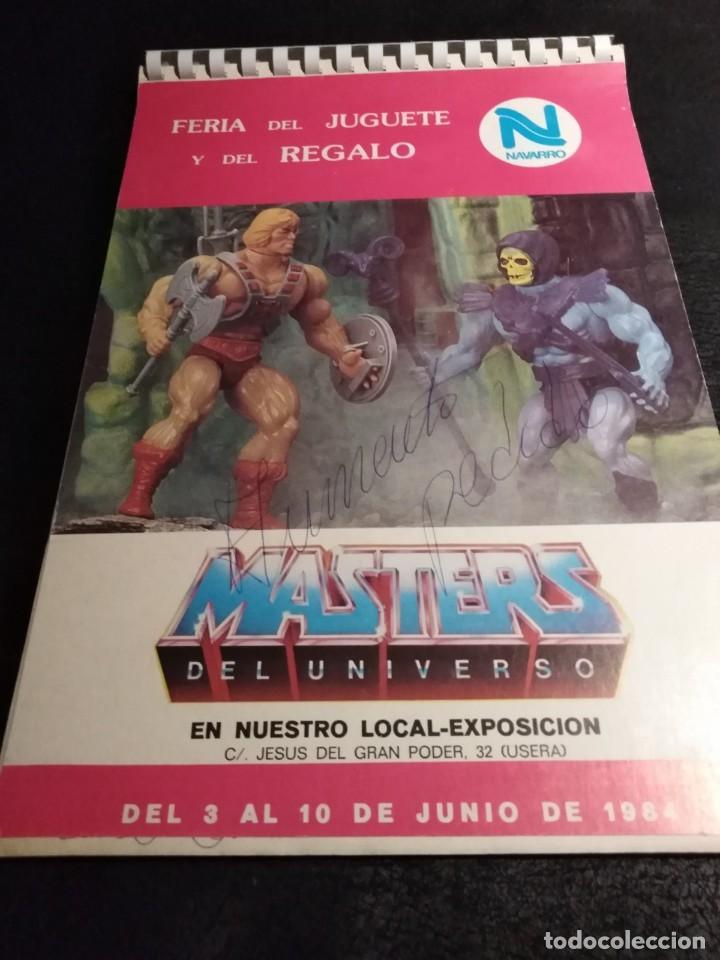 CATALOGO 1984 FERIA DEL JUGUETE JUGUETES NAVARRO (MASTERS DEL UNIVERSO, STAR WARS, FAMOBIL, BARBIE) (Juguetes - Catálogos y Revistas de Juguetes)