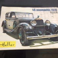 Juguetes antiguos: CATALOGO DE JUGUETES HELLER. Lote 194175646