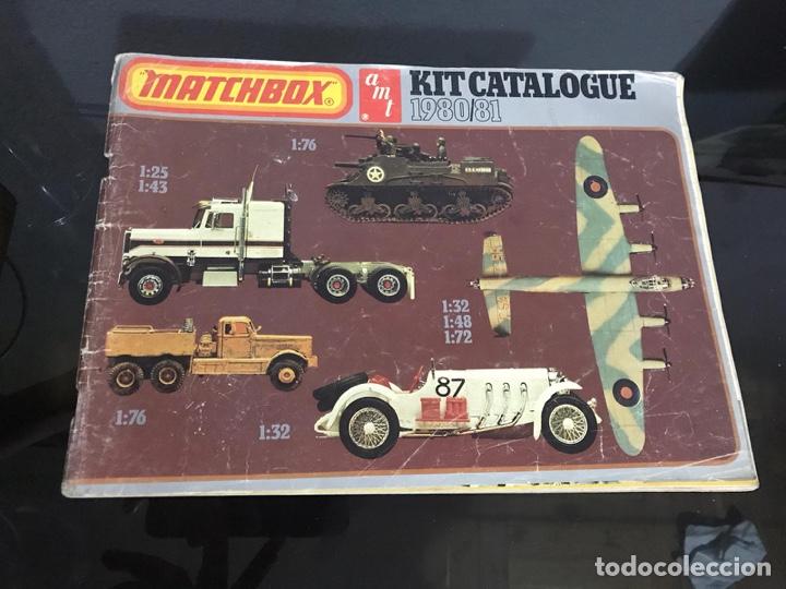 CATALOGO MATCHBOX (Juguetes - Catálogos y Revistas de Juguetes)