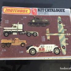 Juguetes antiguos: CATALOGO MATCHBOX. Lote 194175706