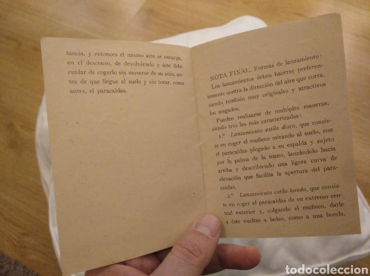 Juguetes antiguos: Juegos de Paracaidismo. Juguete de moda El Paracaidista. Creaciones Lafredo. - Foto 2 - 194239483
