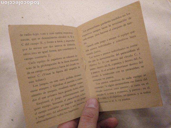 Juguetes antiguos: Juegos de Paracaidismo. Juguete de moda El Paracaidista. Creaciones Lafredo. - Foto 3 - 194239483