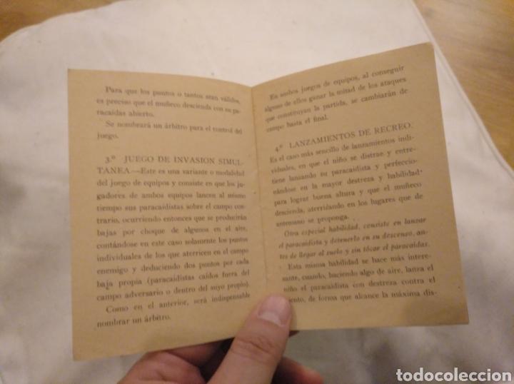 Juguetes antiguos: Juegos de Paracaidismo. Juguete de moda El Paracaidista. Creaciones Lafredo. - Foto 4 - 194239483