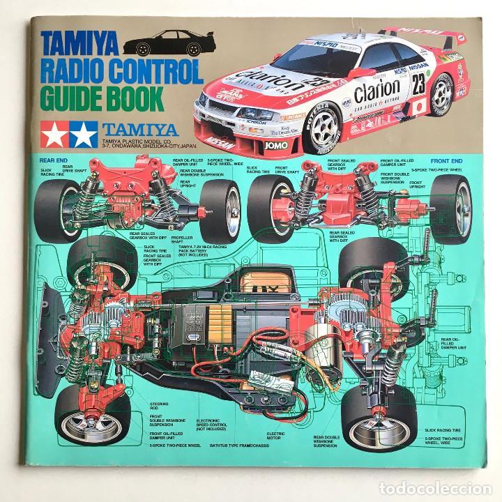 TAMIYA RADIO CONTROL GUIDE, CATÁLOGO-GUIA CON TODA LA GAMA EN PRODUCTOS DE RADIOCONTROL, INGLÉS 1995 (Juguetes - Catálogos y Revistas de Juguetes)