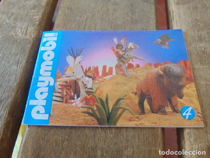 CATÁLOGO DESPLEGABLES DE PLAYMOBIL 1988 Nº 4 (Juguetes - Catálogos y Revistas de Juguetes)