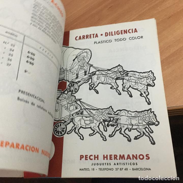 Juguetes antiguos: PECH HERMANOS JUGUETES ARTISTICOS PLASTICO COLOR CATALOGO CON 15 HOJAS POR TEMAS (COIB59) - Foto 8 - 194349093