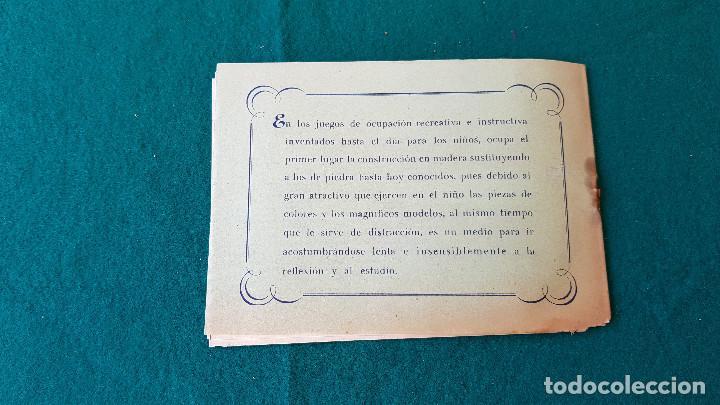 Juguetes antiguos: ARQUITECTURA PRACTICA - MODELOS DE CONSTRUCCION DE MADERA NUMERO 2 - Foto 5 - 194535461