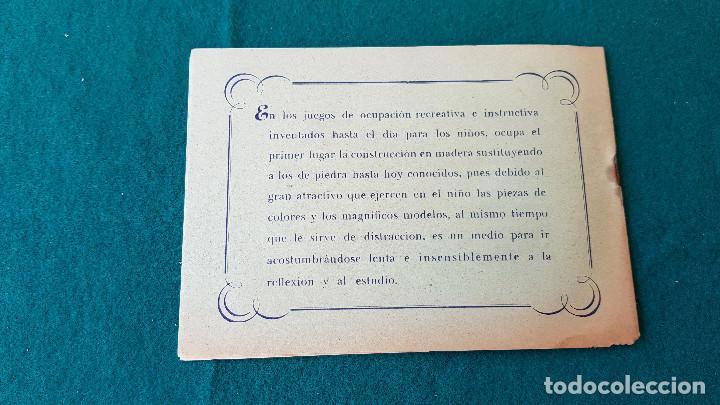 Juguetes antiguos: ARQUITECTURA PRACTICA - MODELOS DE CONSTRUCCION DE MADERA NUMERO 2 - Foto 3 - 194535485