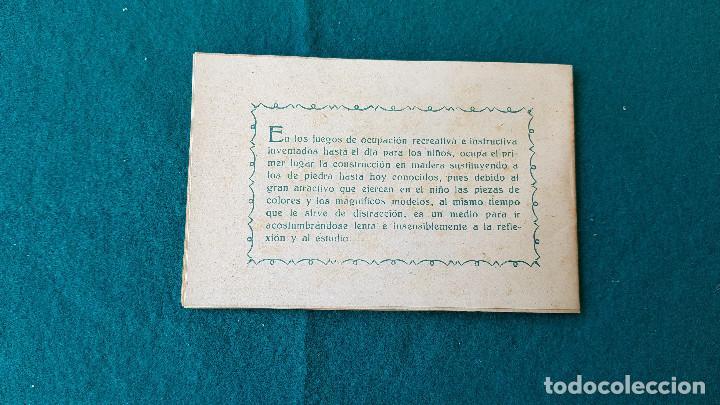 Juguetes antiguos: ARQUITECTURA PRACTICA - MODELOS DE CONSTRUCCION DE MADERA NUMERO 1 - Foto 4 - 194535728