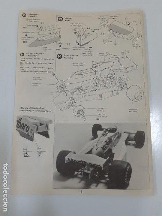 Juguetes antiguos: McLAREN M23 FORD/ TAMIYA (999) - Foto 2 - 194552318