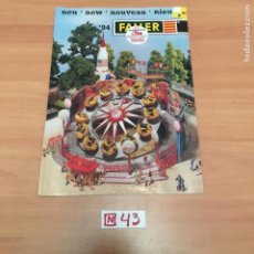Juguetes antiguos: CATALOGO DE JUGUETES. Lote 194731523