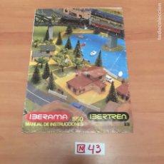 Juguetes antiguos: CATALOGO IBERTREN. Lote 194732583