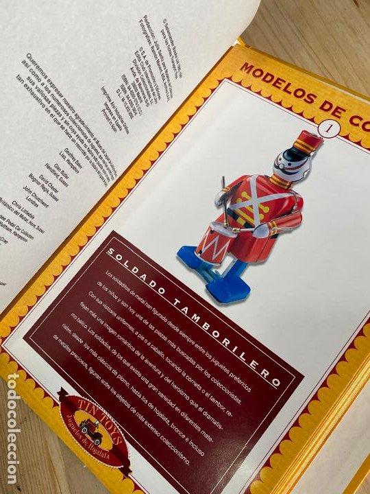 Juguetes antiguos: ARCHIVADOR + FASCICULOS COLECCION COMPLETA TIN TOYS JUGUETES DE HOJALATA - Foto 8 - 194903955