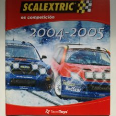 Juguetes antiguos: CATALOGO SCALEXTRIC 2004 - 2005. Lote 194928917