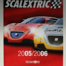 Juguetes antiguos: CATALOGO SCALEXTRIC 2005 - 2006. Lote 194929063