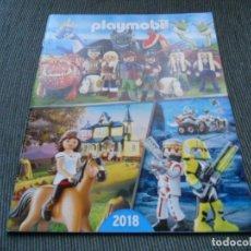 Juguetes antiguos: CATALOGO PLAYMOBIL 2018 67 PAGINAS. Lote 194954612