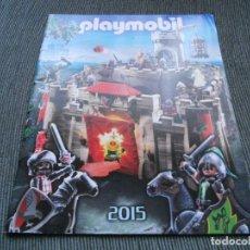 Juguetes antiguos: CATALOGO PLAYMOBIL 2015 59 PAGINAS. Lote 194954767