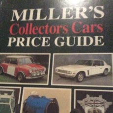 Juguetes antiguos: MILLER'S COLLECTORS CARS PRICE GUIDE 1991_1992. Lote 195050075