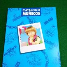 Juguetes antiguos: CATÁLOGO MUÑECOS FEBER 1991. Lote 195102603