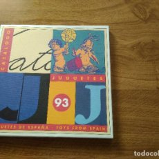 Juguetes antiguos: CATALOGO JUGUETES DE ESPAÑA 93. Lote 195271511