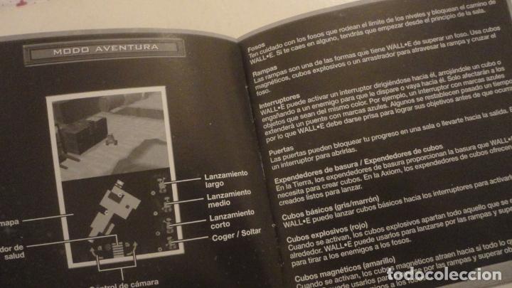 Juguetes antiguos: MANUAL INSTRUCCIONES.WALL BATALLON DE LIMPIEZA.NINTENDO DS.THQ. DISNEY-PIXAR - Foto 4 - 195331623