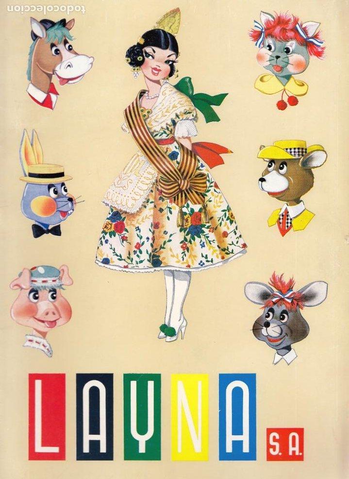 CATALOGO MUÑECAS LAYNA, AÑOS 60, MUÑECAS, ZOO, REGIONALES Y VARIAS. (Juguetes - Catálogos y Revistas de Juguetes)
