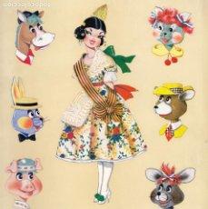 Juguetes antiguos: CATALOGO MUÑECAS LAYNA, AÑOS 60, MUÑECAS, ZOO, REGIONALES Y VARIAS.. Lote 195372333
