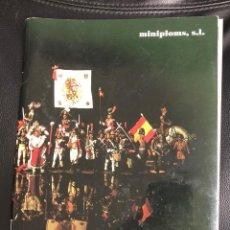 Juguetes antiguos: ALYMER. CATALOGO MINIATURAS MILITARES EN METAL. MINIPLOMS, 1999. Lote 195395338