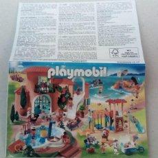 Juguetes antiguos: PLAYMOBIL - MINI CATÁLOGO TEMÁTICA VACACIONES VERANO. Lote 195435925
