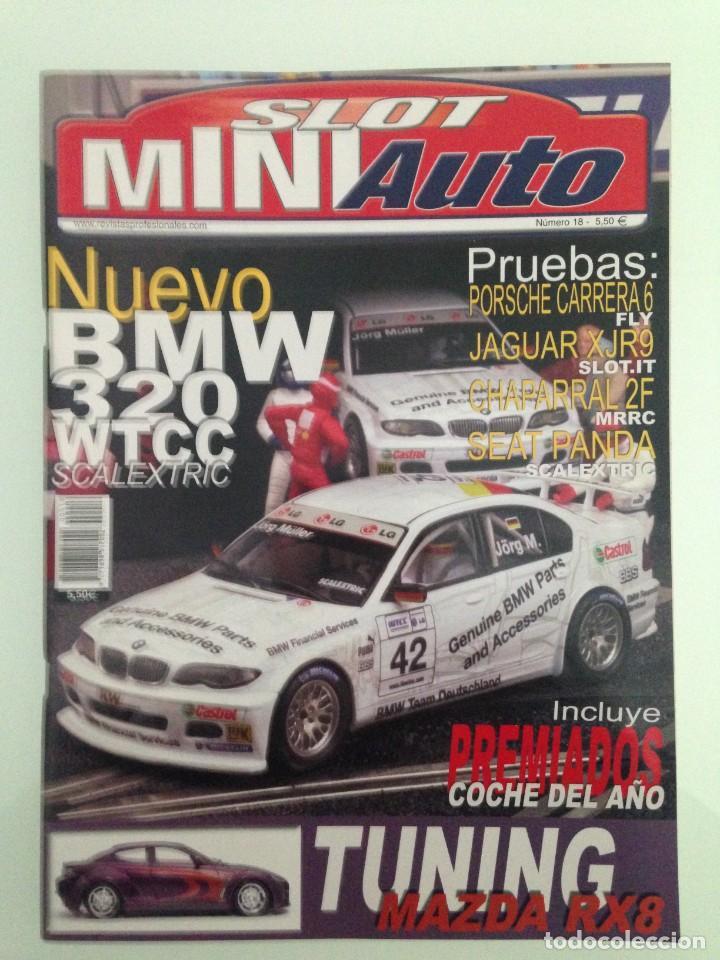 SLOT MINIAUTO 18, BMW 320 WTCC,PORSCHE 906 CARRERA 6, CHAPARRAL 2F,SEAT PANDA, MAZDA RX8 TUNING (Juguetes - Catálogos y Revistas de Juguetes)