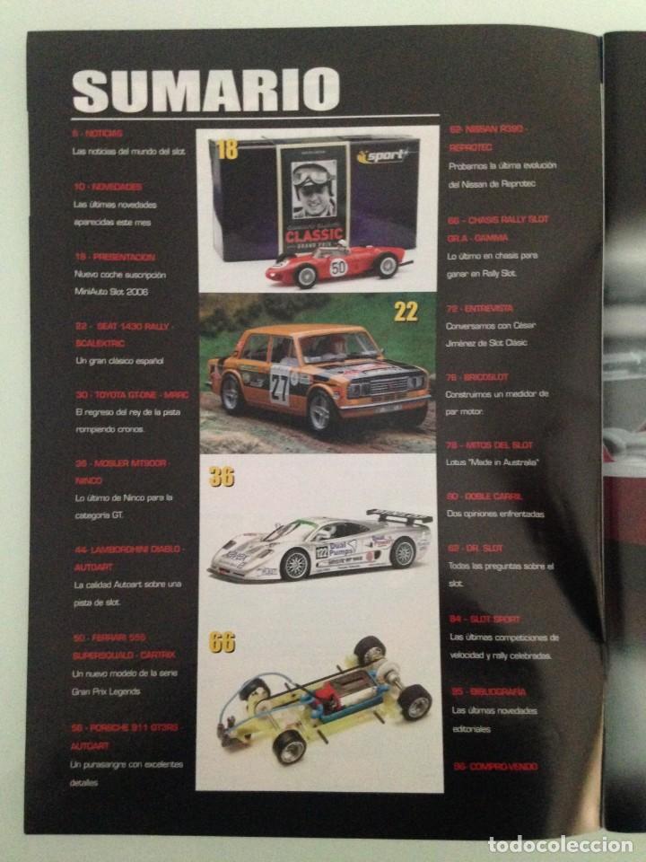 Juguetes antiguos: SLOT MINIAUTO 19,FERRARI 156 F1,SEAT 1430, TOYOTA GT-ONE,FERRARI 555 SUPERSQUALO, PORSCHE 911 GT3 RS - Foto 2 - 195447355