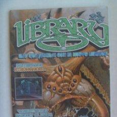 Juguetes antiguos: REVISTA LIBRARY , Nº 11 , 1998. DEDICADA A JUEGOS DE ROL, CARTAS, ETC. Lote 195469195