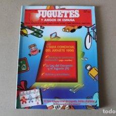 Juguetes antiguos: JUGUETES Y JUEGOS DE ESPAÑA Nº 138 JUNIO/JULIO 1996 - ASOCIACIÓN FABRICANTES DE JUGUETES. Lote 195470145