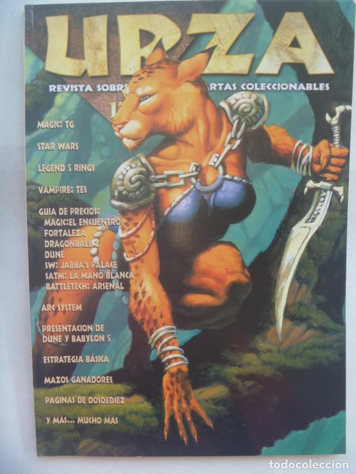 REVISTA URZA , Nº 17, 1998. REVISTA SOBRE JUEGOS DE CARTAS COLECCIONABLES, ETC. MAGIC (Juguetes - Catálogos y Revistas de Juguetes)