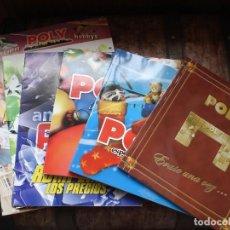 Juguetes antiguos: LOTE CATALOGOS DE JUGUETES POLI. Lote 195533316