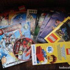 Juguetes antiguos: LOTE CATALOGOS JUGUETES DE LEGO Y OTROS. Lote 195534821