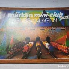 Juguetes antiguos: CATALOGO MAQUETAS TRENES MARKLIN REF.0290. Lote 196350888