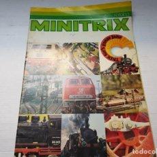 Juguetes antiguos: CATALOGO TRENES MINITRIX 76/77 . Lote 196351428