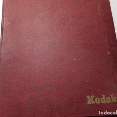 Juguetes antiguos: ALBUM DE MAQUETAS DE TREN DE COLECCIONISTA. Lote 196352151