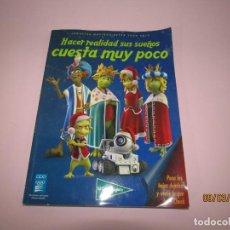 Giocattoli antichi: CATALOGO JUGUETES Y VIDEOJUEGOS NAVIDAD REYES EL CORTE INGLES 2009 2010. Lote 196652501
