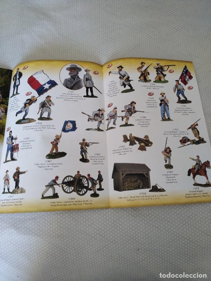 Juguetes antiguos: CATALOGO WILLIAM BRITAIN (BRITAINS) AMERICAN CIVIL WAR 2007 SUPPLEMENT - Foto 3 - 196743860