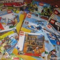 Juguetes antiguos: GRAN LOTE 43 CATALOGO LEGO STAR WARS MOVIE CONSTRUCTOR SUPER HEROES NINJA TECHNIC RANGER CREATOR. Lote 197410948
