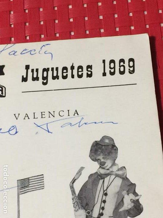 Juguetes antiguos: JUGUETES FRACSA - VALENCIA - TARIFA GENERAL - AÑO 1969 - Foto 3 - 197782075