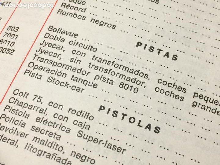 Juguetes antiguos: JUGUETES FRACSA - VALENCIA - TARIFA GENERAL - AÑO 1969 - Foto 7 - 197782075